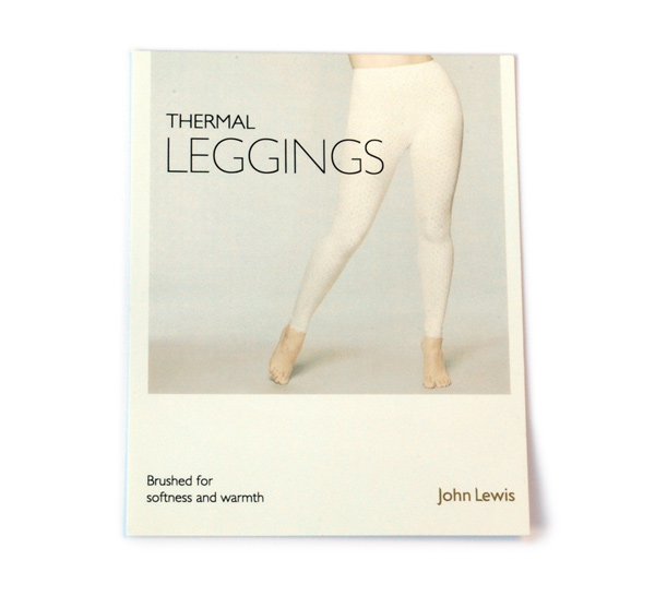 John Lewis Thermal Leggings